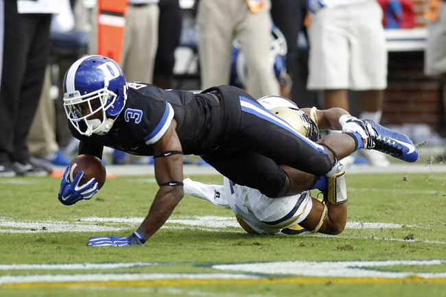 Pittsburgh Panthers vs. Duke Blue Devils - 11/1/14 College Football Pick, Odds, and Prediction