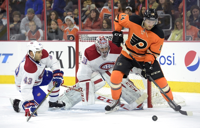 Montreal Canadiens vs. Philadelphia Flyers - 11/15/14 NHL Pick, Odds, and Prediction