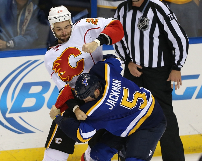Calgary Flames vs. St. Louis Blues - 3/17/15 NHL Pick, Odds, and Prediction