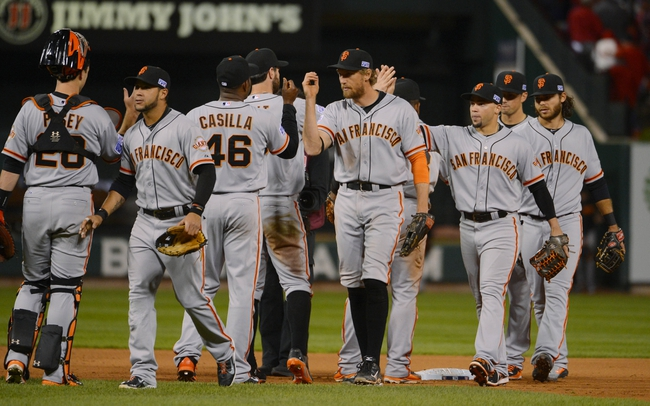 San Francisco Giants at St. Louis Cardinals - 10/12/14 2014 NLCS Pick, Odds, Prediction