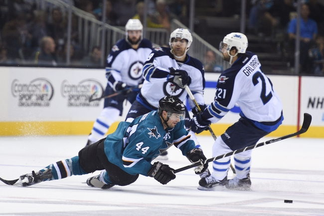 Jets vs. Sharks - 1/5/15 NHL Pick, Odds, and Prediction