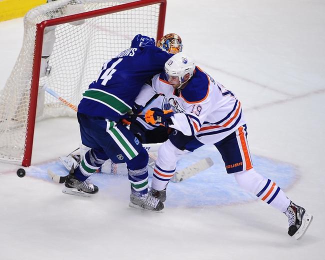 Edmonton Oilers vs. Vancouver Canucks - 10/17/14