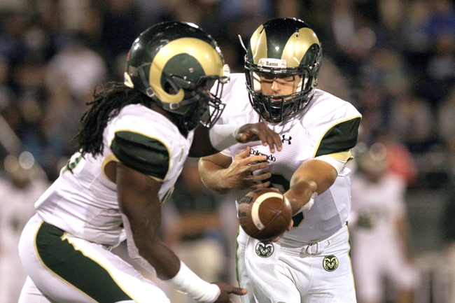 Colorado State Rams vs. Utah State Aggies Pick-Odds-Prediction - 10/18/14