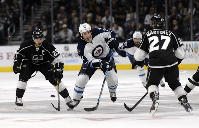 Los Angeles Kings vs. Winnipeg Jets - 1/10/15 NHL Pick, Odds, and Prediction