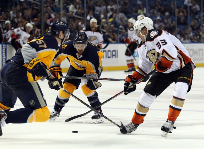 Anaheim Ducks vs. Buffalo Sabres Pick-Odds-Prediction - 10/22/14