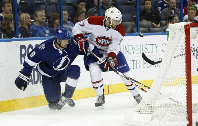 Canadiens vs. Lightning - 1/6/15 NHL Pick, Odds, and Prediction