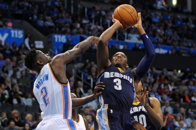Oklahoma City Thunder vs. Memphis Grizzlies Free Pick, Odds, Prediction 11/7/14 NBA Pick, Odds, and Prediction