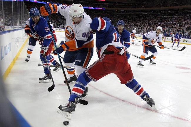 New York Rangers vs. New York Islanders - 1/13/15 NHL Pick, Odds, and Prediction