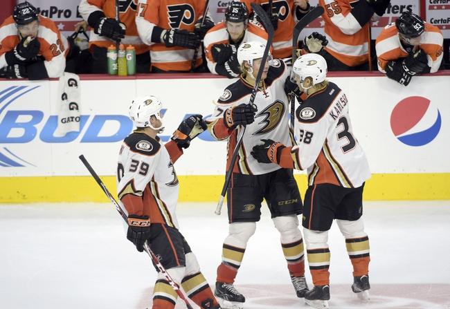 Anaheim Ducks vs. Philadelphia Flyers - 12/3/14 NHL Pick, Odds, and Prediction