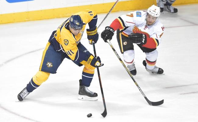 Calgary Flames vs. Nashville Predators - 10/31/14 NHL Pick, Odds, and Prediction