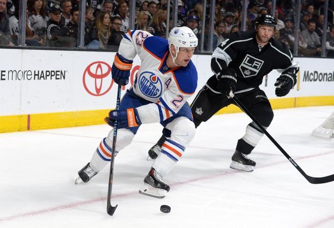 Oilers vs. Kings - 12/30/14 NHL Pick, Odds, and Prediction