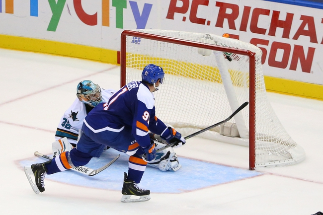 San Jose Sharks vs. New York Islanders - 11/1/14 NHL Pick, Odds, and Prediction