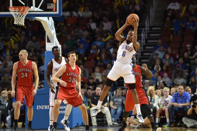 Toronto Raptors vs. Oklahoma City Thunder - 11/4/14 NBA Pick, Odds, and Prediction