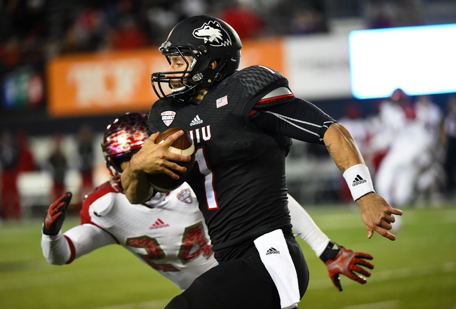 NIU Huskies vs. Central Michigan Chippewas - 10/15/16 College Football Pick, Odds, and Prediction