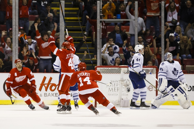 Maple Leafs vs. Red Wings - 11/22/14 NHL Pick, Odds, and Prediction