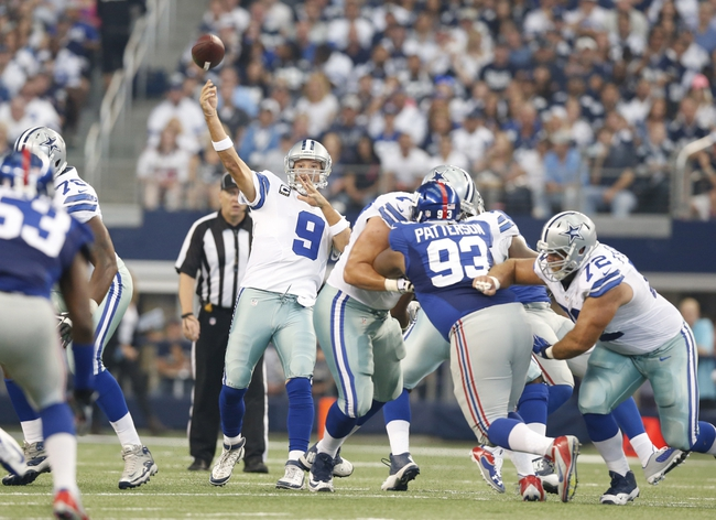 Giants vs. Cowboys - 11/23/14 NFL Pick, Odds, and Prediction