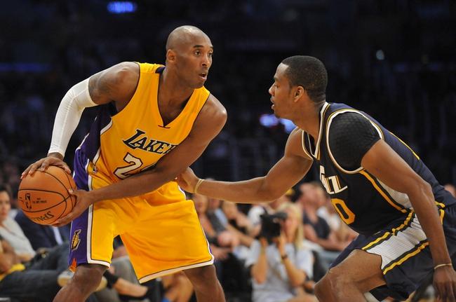Jazz vs. Lakers - 1/16/16 NBA Pick, Odds, and Prediction