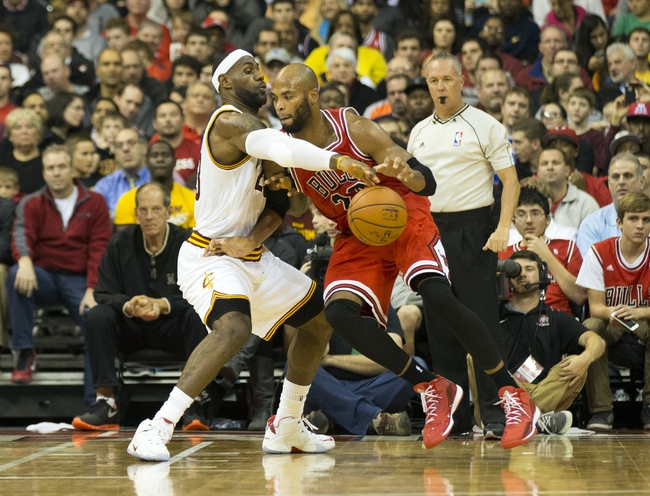 Cavaliers at Bulls - 10/31/14 NBA Pick, Odds, and Prediction