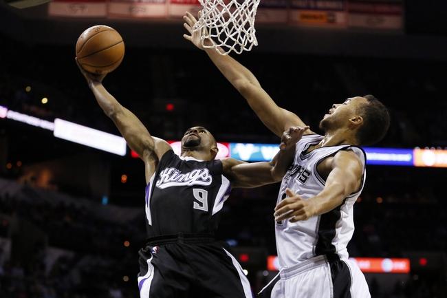 Sacramento Kings vs. San Antonio Spurs - 11/15/14 NBA Pick, Odds, and Prediction