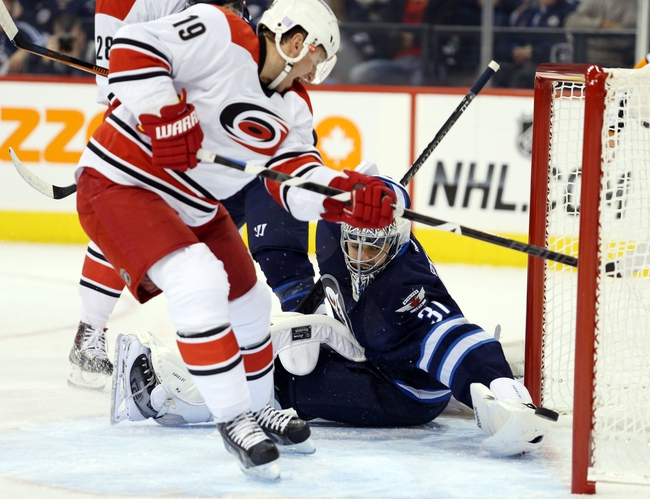 Hurricanes vs. Jets - 11/13/14 NHL Pick, Odds, and Prediction