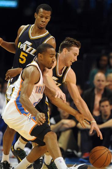 Utah Jazz vs. Oklahoma City Thunder - 11/18/14 NBA Pick, Odds, and Prediction