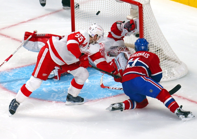 Detroit Red Wings vs. Montreal Canadiens - 11/16/14 NHL Pick, Odds, and Prediction