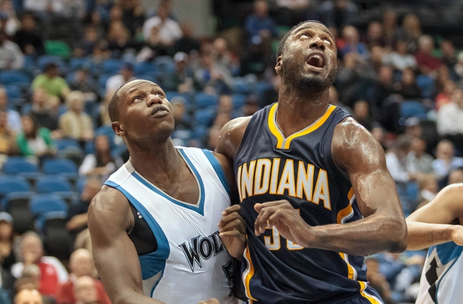 Timberwolves vs. Pacers - 12/21/14 NBA Pick, Odds, and Prediction
