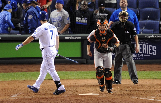 Giants at Royals - 10/22/14 World Series Pick, Odds, Prediction