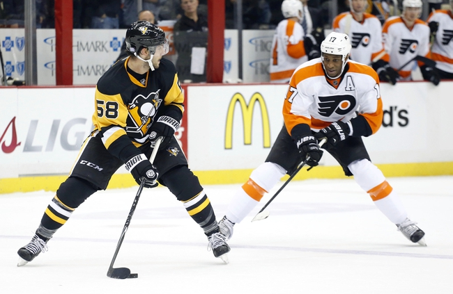 Philadelphia Flyers vs. Pittsburgh Penguins - 1/20/15 NHL Pick, Odds, and Prediction