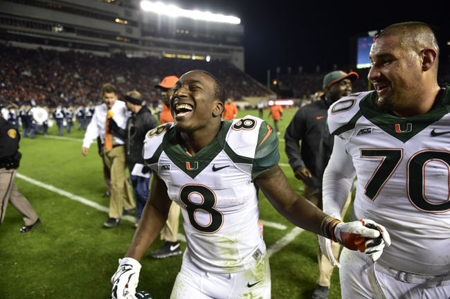Miami Hurricanes vs. North Carolina Tar Heels - 11/1/14 College Football Pick, Odds, and Prediction