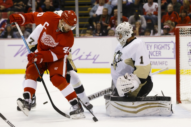 Pittsburgh Penguins vs. Detroit Red Wings - 2/11/15 NHL Pick, Odds, and Prediction