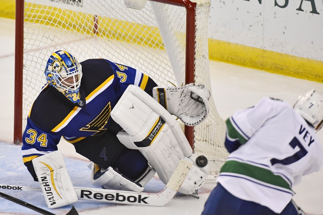 Vancouver Canucks vs. St. Louis Blues - 3/1/15 NHL Pick, Odds, and Prediction