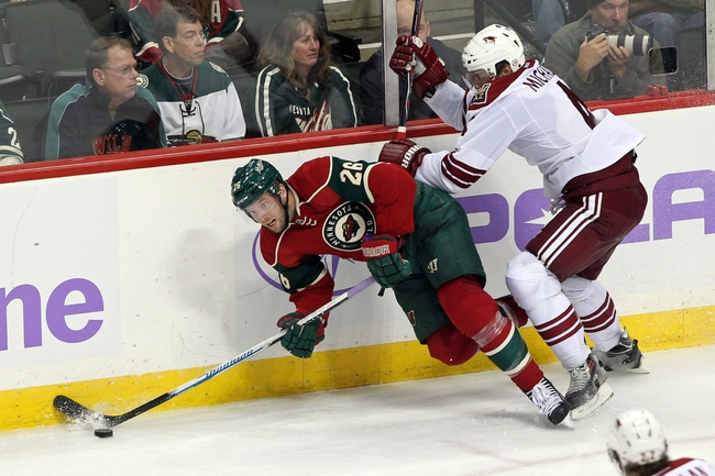 Coyotes vs. Wild - 12/13/14 NHL Pick, Odds, and Prediction