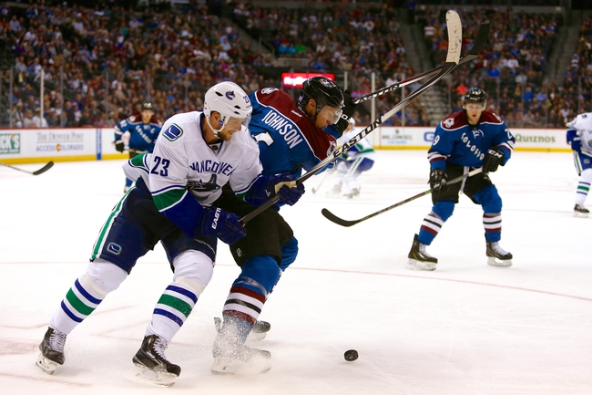 Colorado Avalanche vs. Vancouver Canucks - 11/4/14 NHL Pick, Odds, and Prediction