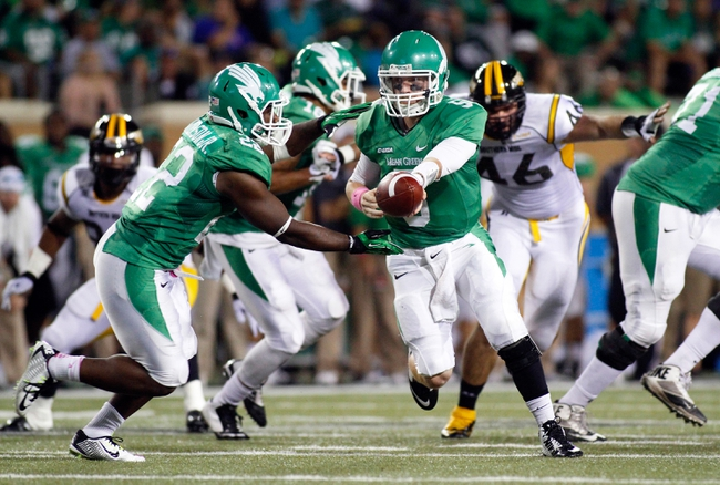 Southern Miss Golden Eagles vs. North Texas Mean Green - 10/3/15 College Football Pick, Odds, and Prediction