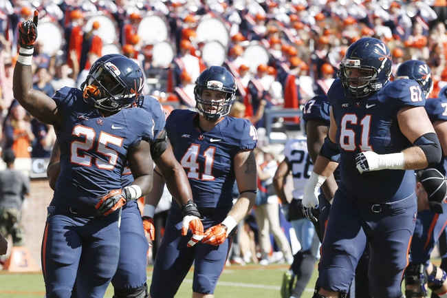 Georgia Tech Yellow Jackets vs. Virginia Cavaliers - 11/1/14 College Football Pick, Odds, and Prediction