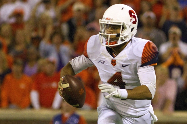 Syracuse Orange vs. North Carolina State Wolfpack - 11/1/14 College Football Pick, Odds, and Prediction