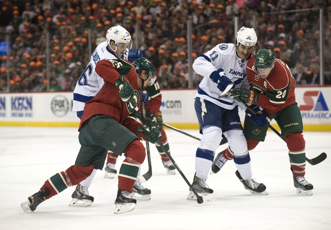 Lightning vs. Wild - 11/22/14 NHL Pick, Odds, and Prediction