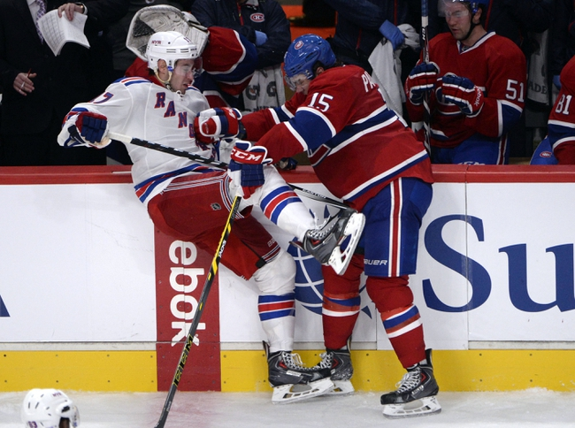 Rangers vs. Canadiens - 11/23/14 NHL Pick, Odds, and Prediction