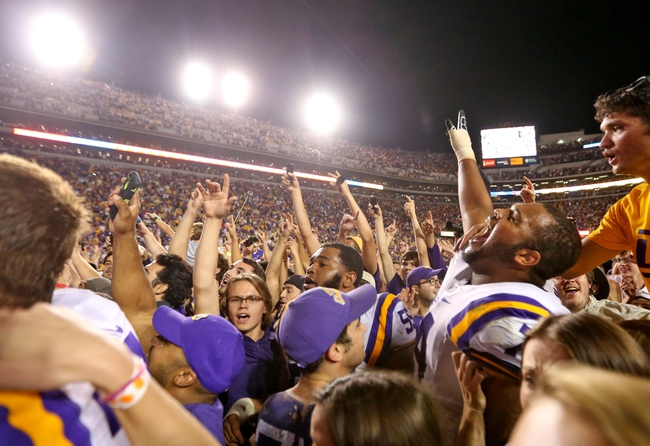 LSU vs. Alabama - 11/8/14 College Football Pick, Odds, and Prediction