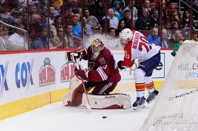 Florida Panthers vs. Arizona Coyotes - 10/30/14 NHL Pick, Odds, and Prediction