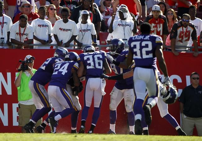 Buccaneers vs. Vikings - 8/15/15 NFL Pick, Odds, and Prediction