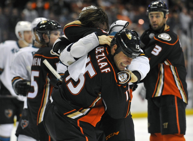 San Jose Sharks vs. Anaheim Ducks - 11/29/14 NHL Pick, Odds, and Prediction