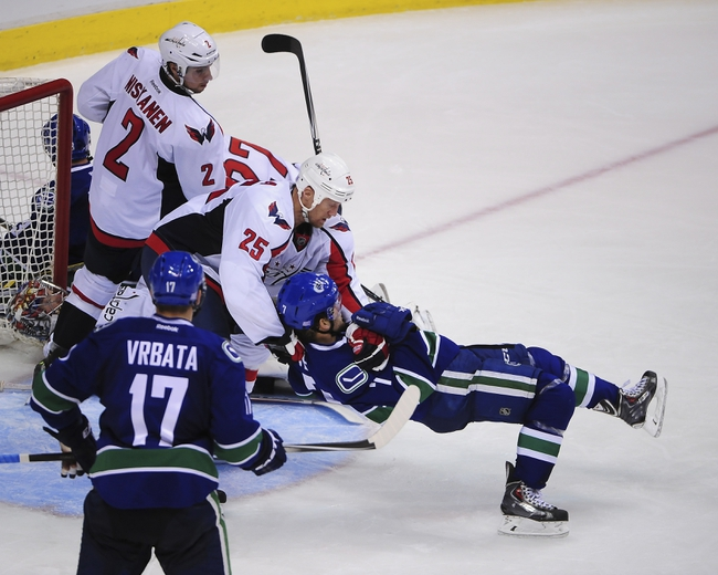 Capitals vs. Canucks - 12/2/14 NHL Pick, Odds, and Prediction