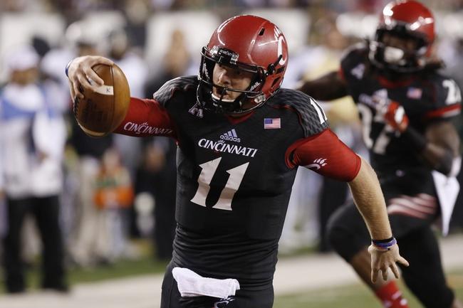 Cincinnati at Tulane - 10/31/14 College Football Pick, Odds, and Prediction