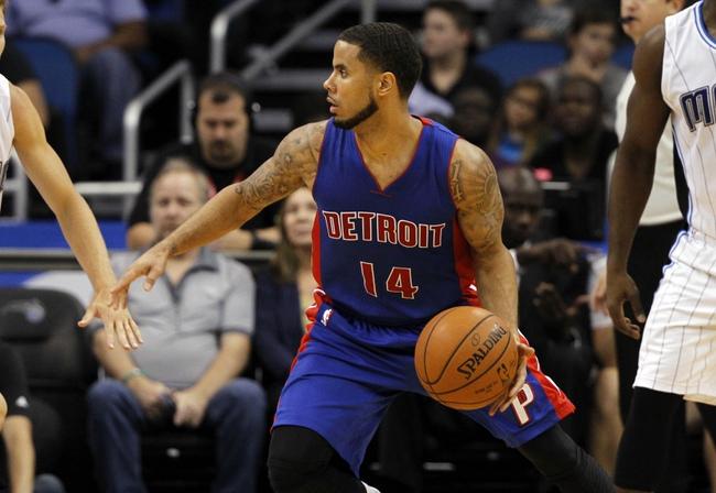 Pistons vs. Magic - 11/17/14 NBA Pick, Odds, and Prediction