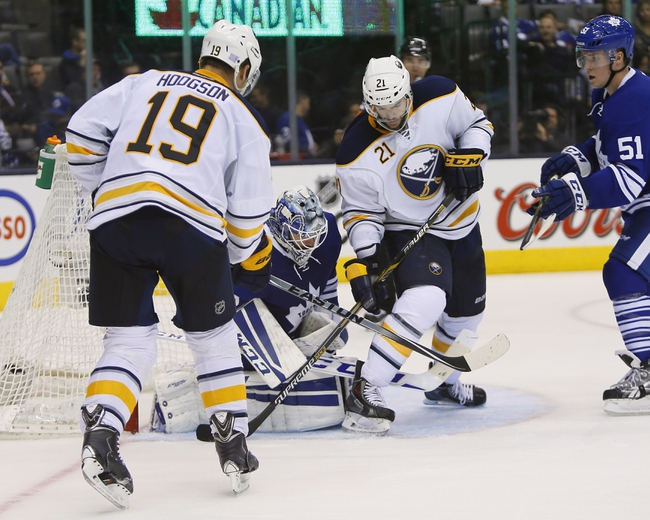 Buffalo Sabres vs. Toronto Maple Leafs - 11/15/14 NHL Pick, Odds, and Prediction