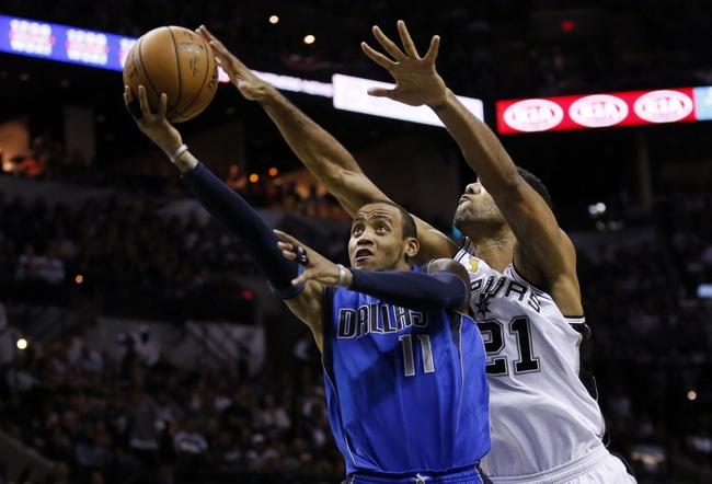 Dallas Mavericks vs. San Antonio Spurs - 12/20/14 NBA Pick, Odds, and Prediction