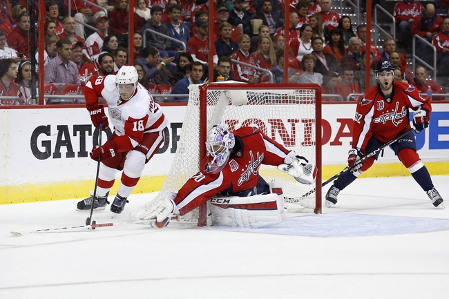 Capitals vs. Red Wings - 1/10/15 NHL Pick, Odds, and Prediction