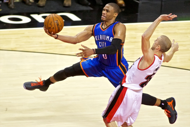 Oklahoma City Thunder vs. Portland Trail Blazers - 12/23/14 NBA Pick, Odds, and Prediction